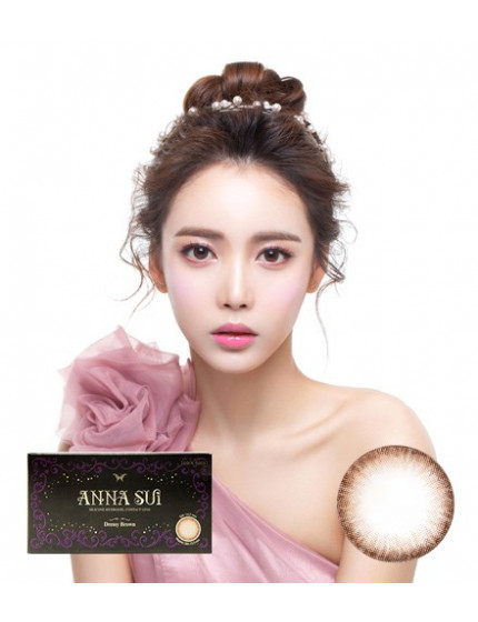Anna Sui Dressy Brown(2 weeks/6pcs) 안나수이 드레시브라운