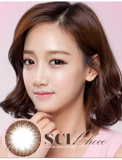 SCL HI Chocolate Silicone Hydrogel (10 months//1pc/vial) SCL HI 초코