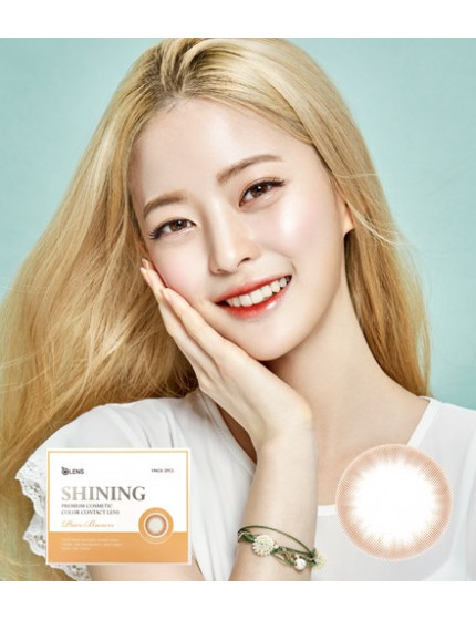 Shining Pure Brown (1 month/2pc/box) 샤이닝퓨어 브라운