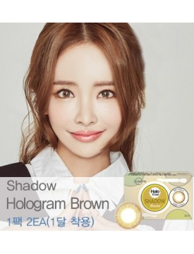 Shadow Hologram Brown(1 month 2pcs/box)섀도우 홀로그램 브라운