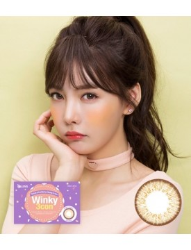 Winky 3 Brown (1 month/2pc/box) 윙키3콘 브라운