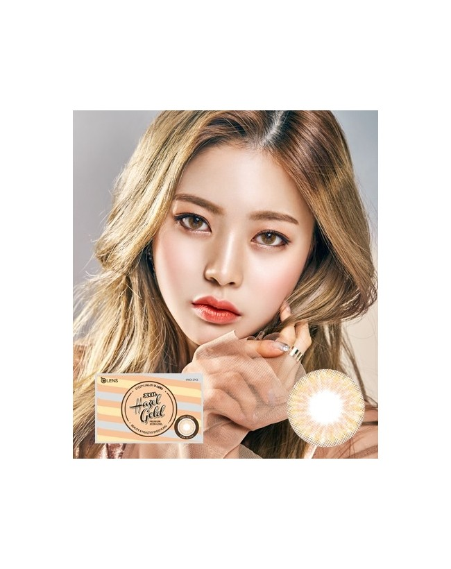 Hazel Gold (1 month/2pc/box) 헤이즐 골드