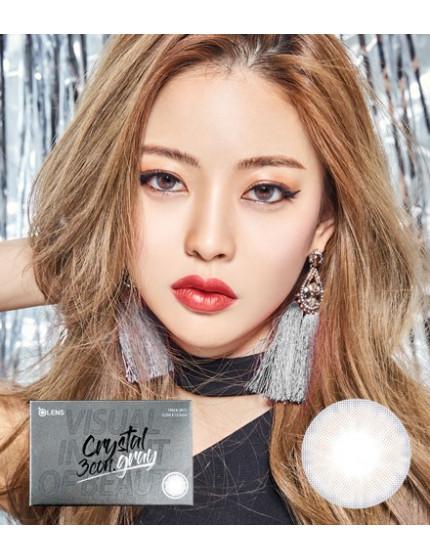 Crystal 3 Grey (1 month/2pc/box) 크리스탈 3콘 그레이