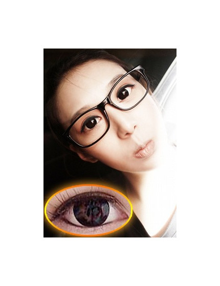 XX-Barbie Circle Black (12 months/1 lens/vial)