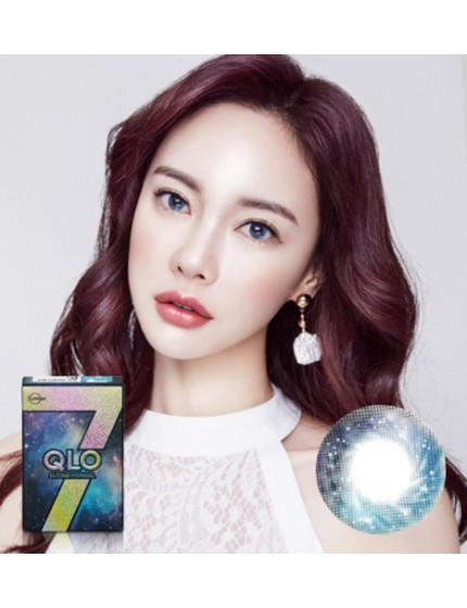 GLOBAL 7 Color Blue Silicone Hydrogel (1 month/2pc/box)클로 7컬러 블루