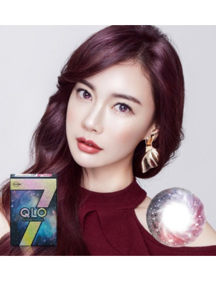 GLOBAL 7 Color Pink Silicone Hydrogel (1 month/2pc/box)클로 7컬러 핑크