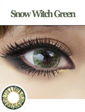 Snow Witch Green (12 months/1 lens/vial)