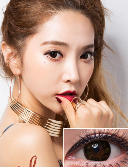 SCL Newtra Brown (Silicone Hydrogel 10 months)뉴트라 브라운
