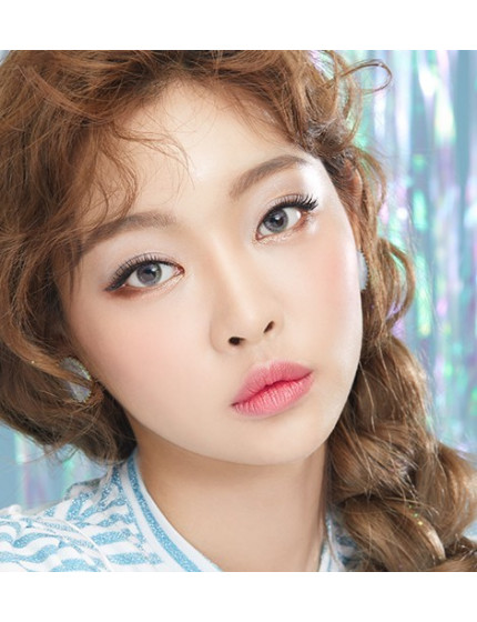 Aurora Bling Grey Silicone Hydrogel (3 months/1 lens/vial) 오로라블링 펄그레이