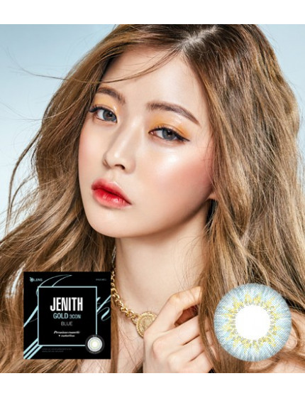 Jenith Gold 3 Blue (2 weeks/4pc/box) 제니스골드 3콘 블루