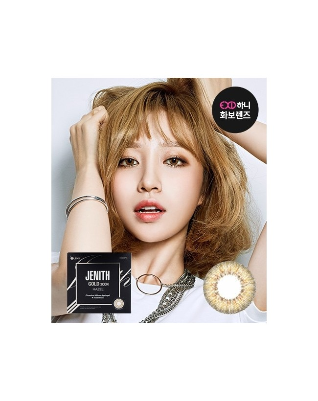 Jenith Gold 3 Hazel (2 weeks/4pc/box) 제니스골드 3콘 헤이즐