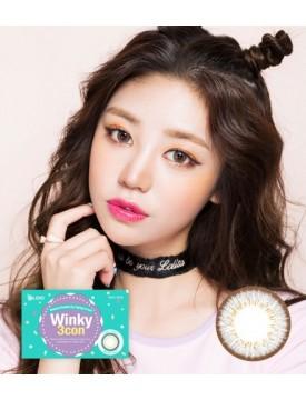 Winky 3 Grey (1 month/2pc/box) 윙키3콘 웜그레이