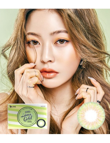 Lime Gold (1 month/2pc/box) 라임 골드