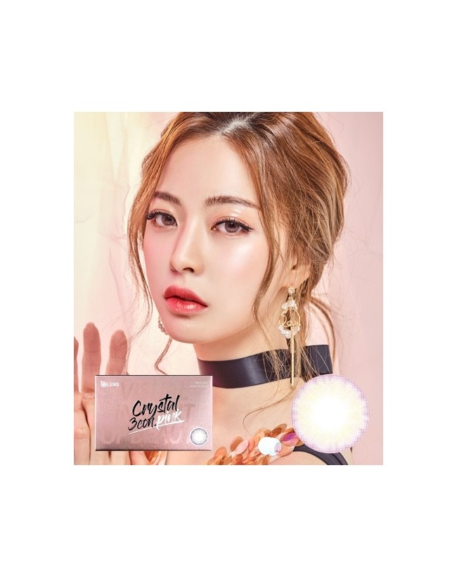 Crystal 3 Pink (1 month/2pc/box) 크리스탈 3콘 핑크