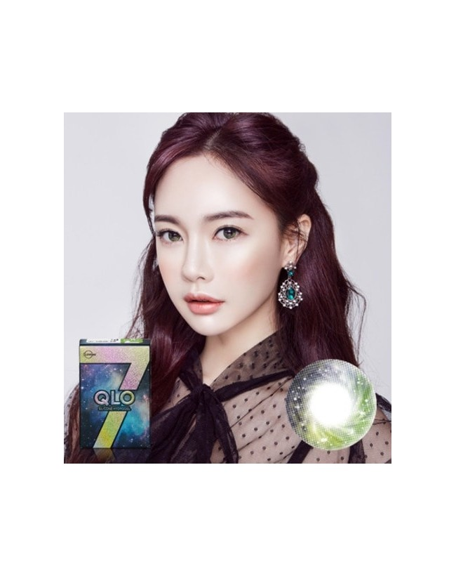 GLOBAL 7 Color Green Silicone Hydrogel (1 month/2pc/box)클로 7컬러 그린