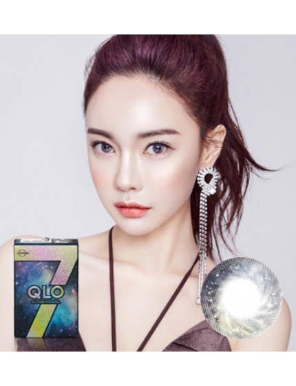 GLOBAL 7 Color Grey Silicone Hydrogel (1 month/2pc/box)클로 7컬러 그레이