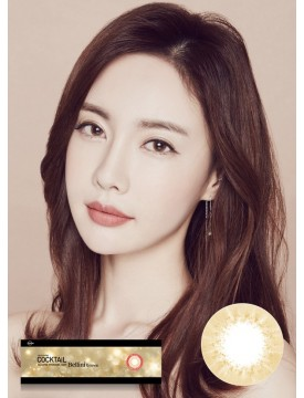 Cocktail 1-Day Bellini Brown Silicone Hydrogel (1 day/20 pcs/box) 루이샤인 칵테일 원데이 벨리니 브라운