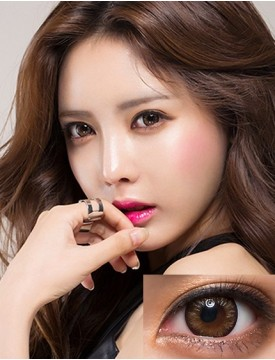 Amazon Pinky Pearl Brown (12 months/1 lens/vial)