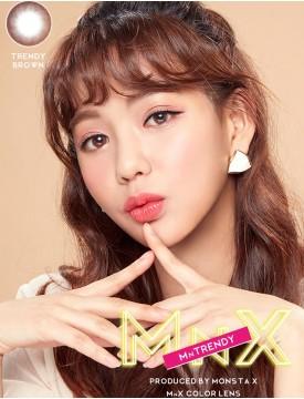 MnX TRENDY BROWN (1 month/2pc/box) 엠엔엑스 트랜디 브라운