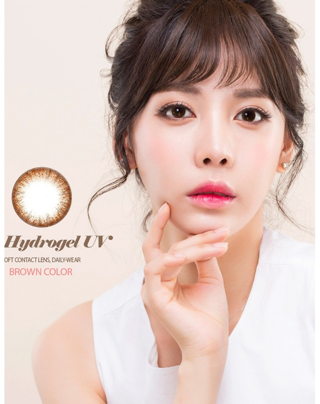Eyevelyns S Brown Silicone Hydrogel UV (10 months/1pc/vial) 아이블린S 브라운