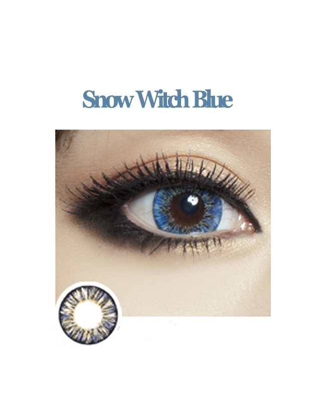 Snow Witch Blue (12 months/1 lens/vial)