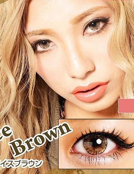 ICE Brown (12 months/1 lens/vial)