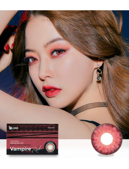 Vampire Red (1 month/2 pc/box) 뱀파이어 레드