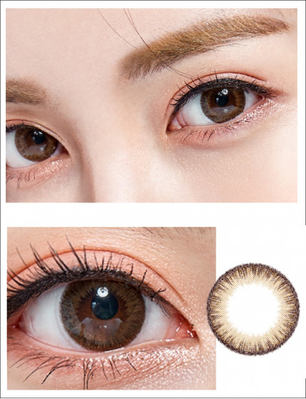 SCL HI BROWN SILICONE HYDROGEL (10-12 MONTHS/1 LENS/VIAL) SCL HI 브라운