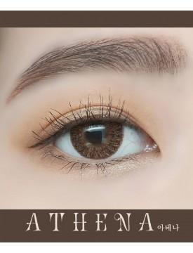雅典娜棕 (年抛/1片/瓶) Athena 아테나