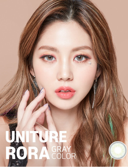 Uniture Rora Grey Silicone Hydrogel (1 month/2 lens/box)
