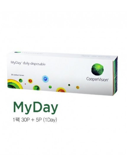 MyDay daily Silicone Hydrogel UV (1 day /30 lens/box) 마이데이