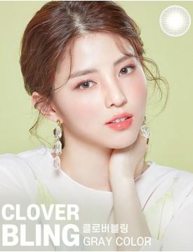 Clover Bling Grey (1 month/2 lens/box)
