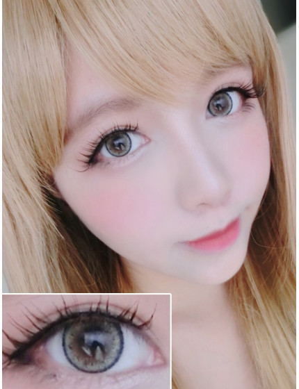 Cat Eye Lemon Grey (12 months/1 lens/vial)