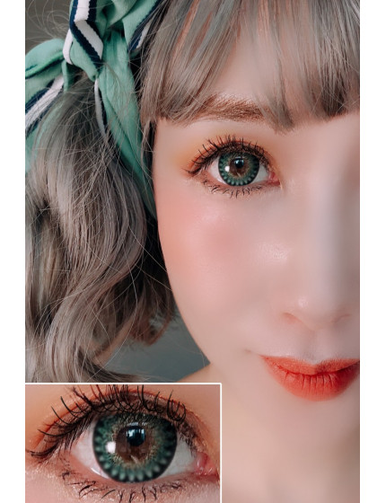 Sweet Heart Green (12 months/1 lens/vial)
