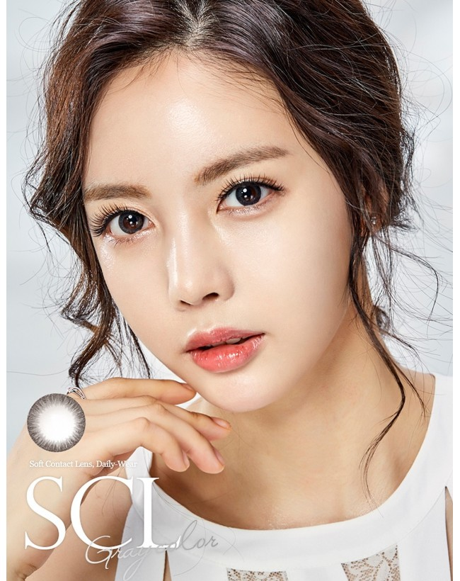 SCL HI Grey Silicone Hydrogel (10-12 months/1 lens/vial) SCL HI 그레이