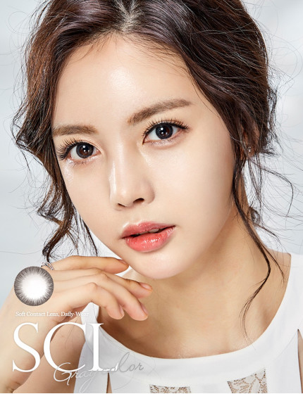 SCL HI Grey (Toric) Silicone Hydrogel (10-12 months/1 lens/vial) SCL HI 그레이 [난시용]