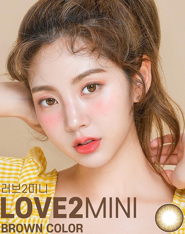 Love 2 Mini Brown (1 month/1 lens/vial)