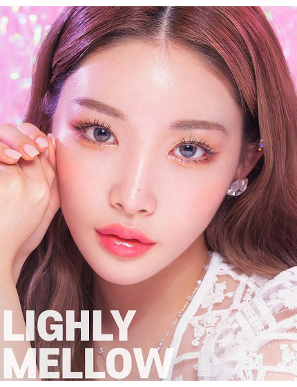 Lighly Mellow Pink Silicone Hydrogel (1 month/2 lens/box)