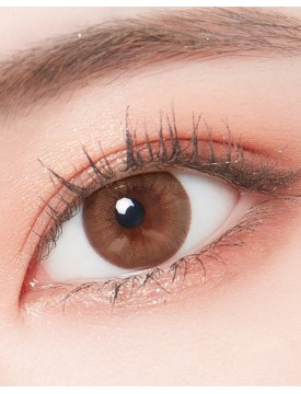 Lighly Natural Ash Brown Silicone Hydrogel (1 day/30 lens/box)