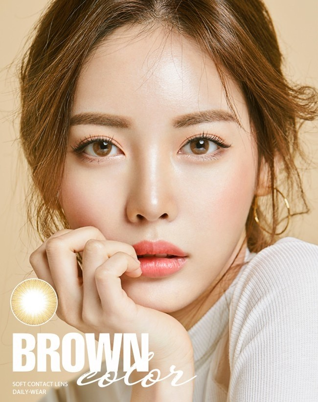 Classic Water Brown Silicone Hydrogel (12 months/1 lens/vial)