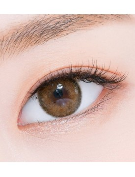 Romantea Rose Beige Brown Silicone Hydrogel (12 months/1 lens/box)