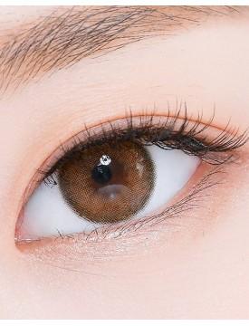 Romantea Rose Pumpkin Brown Silicone Hydrogel (12 months/1 lens/box)
