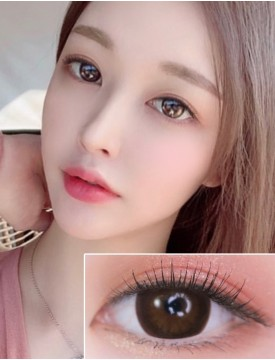 XX-Barbie Circle Brown (12 months/1 lens/vial)