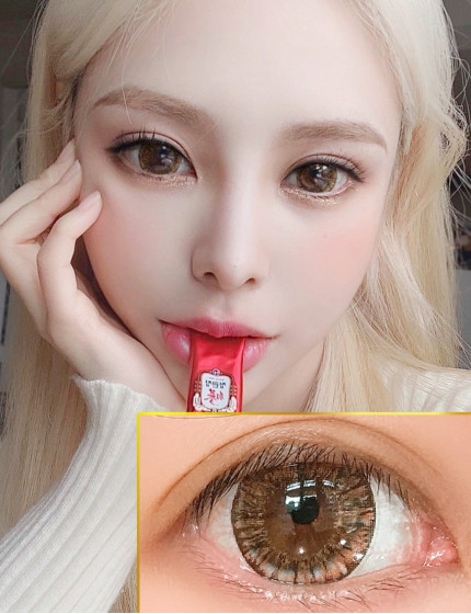 Snow Witch Brown (12 months/1 lens/vial)