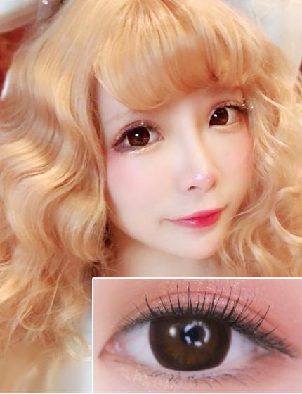 XX-Barbie Circle Brown (12 months/1 lens/vial)