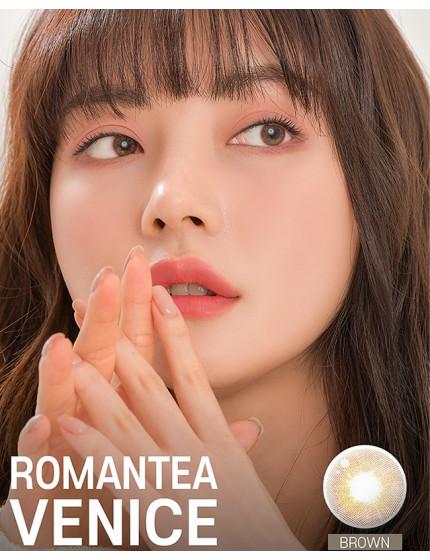 Romantea Venice Brown (1 month/2 lens/box)